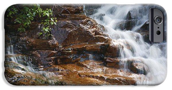 Thoreau iPhone Cases - Thoreau Falls - White Mountains New Hampshire  iPhone Case by Erin Paul Donovan
