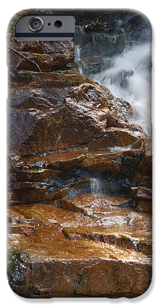 Thoreau Falls - White Mountains New Hampshire  iPhone Case by Erin Paul Donovan
