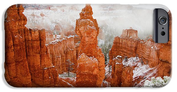 Recently Sold -  - Red Rock iPhone Cases - Thors Hammer Bryce Canyon iPhone Case by Laura Zirino