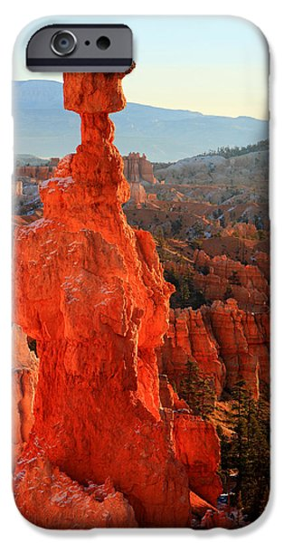 Thor's Hammer iPhone Case by Pierre Leclerc Photography
