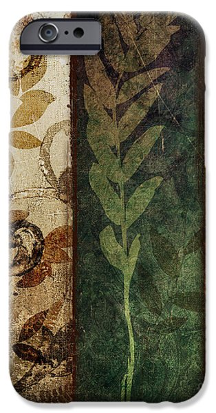 Autumn Foliage iPhone Cases - Three Autumns iPhone Case by Mindy Sommers