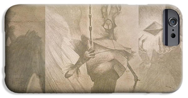 Master Potter iPhone Cases - Three Brothers - Combined iPhone Case by Lisa Leeman