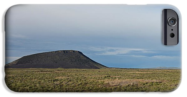 Mounds iPhone Cases - Three Buttes Idaho iPhone Case by Ralf Broskvar