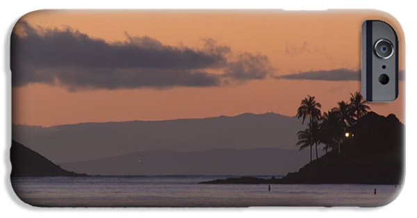 Recently Sold -  - Ocean Sunset iPhone Cases - Three Islands iPhone Case by Robert Abbett