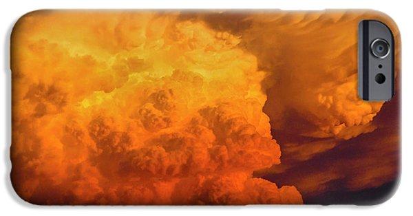Thunderhead iPhone Cases - Thunderhead 1 iPhone Case by Skip Hunt