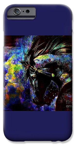 Thundering Hooves iPhone Case by WBK
