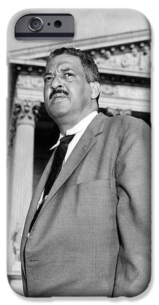 THURGOOD MARSHALL iPhone Case by Granger
