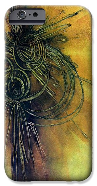 Business iPhone Cases - Tied in Knots iPhone Case by Louise Adams