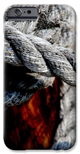 Photography Photographs iPhone Cases - Tied together iPhone Case by Susanne Van Hulst
