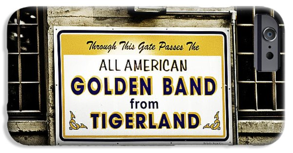 South Louisiana iPhone Cases - Tigerland Band iPhone Case by Scott Pellegrin