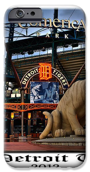 Tigers Win iPhone Case by Dave Manning