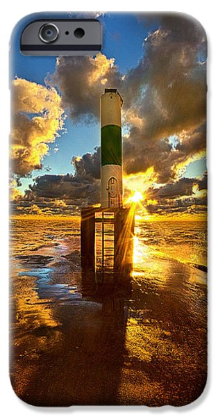 Floral Photographs iPhone Cases - Till You Opened My Eyes iPhone Case by Phil Koch