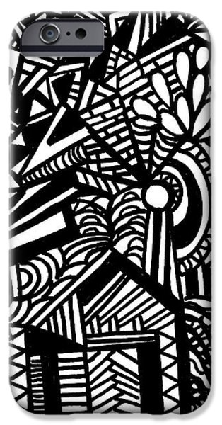 Tilting At Windmills iPhone Case by WBK
