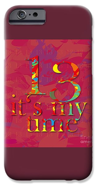 Power iPhone Cases - Time 11 iPhone Case by Johannes Murat