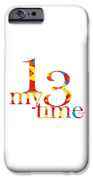 Power iPhone Cases - Time 5 iPhone Case by Johannes Murat