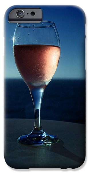 Table Wine iPhone Cases - Time For The Memories iPhone Case by Lucinda Walter