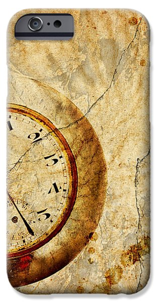 Time iPhone Case by Michal Boubin