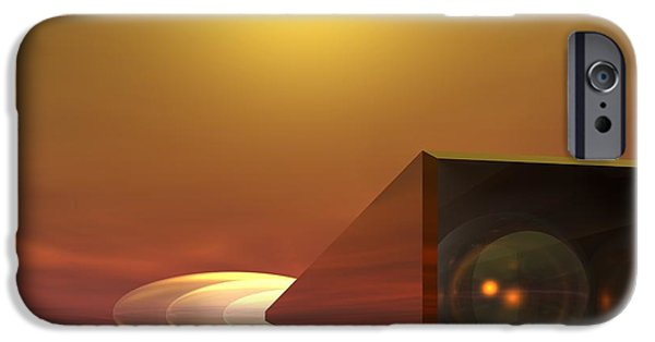 Stellar iPhone Cases - Time Tunnel iPhone Case by John Pangia