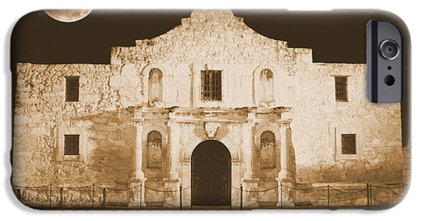 Historic Site iPhone Cases - Timeless Alamo iPhone Case by Carol Groenen