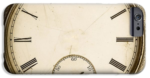 Clock iPhone Cases - Timeless iPhone Case by Edward Fielding