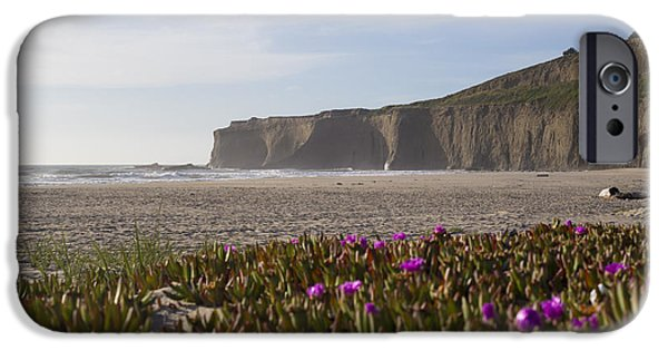 Half Moon Bay iPhone Cases - Timeless Escape iPhone Case by Jeremy Jensen