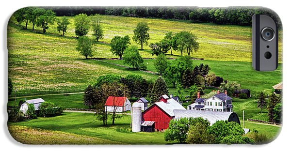 Historic Site iPhone Cases - Tioga County Farmstead iPhone Case by Carolyn Derstine