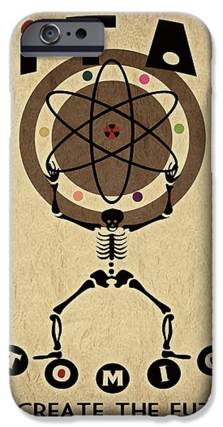 Atomic iPhone Cases - Titan Atomics iPhone Case by Cinema Photography