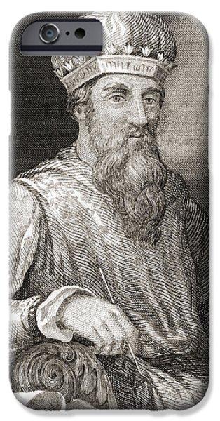 Flavius iPhone Cases - Titus Flavius Josephus, 37 iPhone Case by Vintage Design Pics