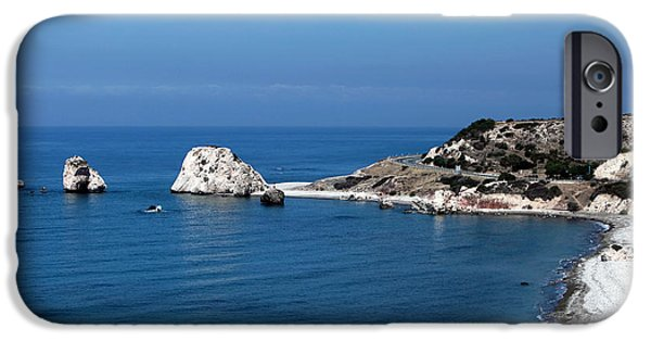 Greek School Of Art iPhone Cases - To Aphrodites Rocks iPhone Case by John Rizzuto
