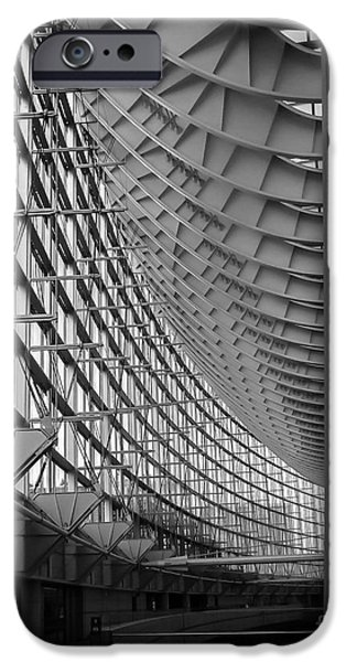 Finance iPhone Cases - Tokyo International Forum iPhone Case by Andrea Anderegg