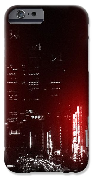 Tokyo Street iPhone Case by Naxart Studio
