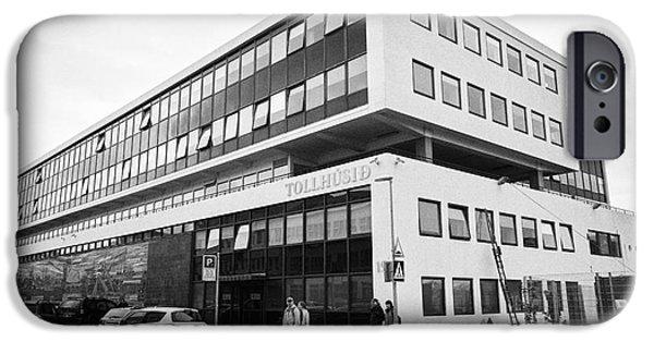 Law Enforcement iPhone Cases - Toll Husid Directorate Of Customs Tollstjori Building Reykjavik Iceland iPhone Case by Joe Fox