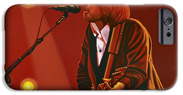 The Great iPhone Cases - Tom Petty iPhone Case by Paul Meijering