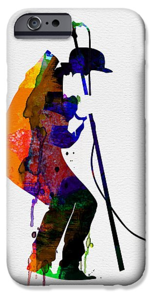 Classical Music iPhone Cases - Tom Watercolor iPhone Case by Naxart Studio