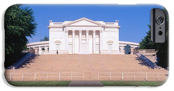 Constitution iPhone Cases - Tomb Of The Unknown Soldier, Arlington iPhone Case by Panoramic Images