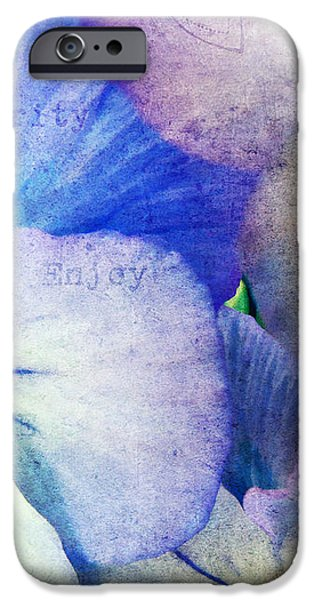Tones of Blue iPhone Case by Darren Fisher