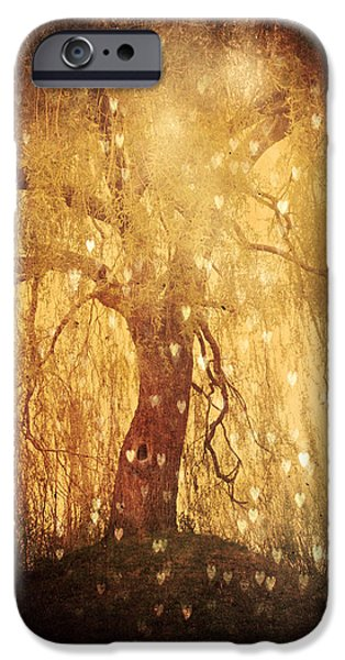 Nature Divine iPhone Cases - Tonight Tonight iPhone Case by Danny Van den Groenendael