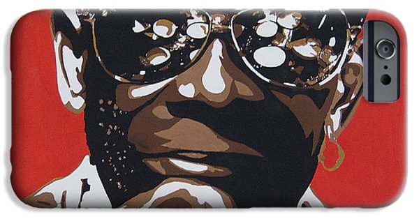 President iPhone Cases - Tony Allen. The Greatest Drummer. iPhone Case by Nancy Mergybrower