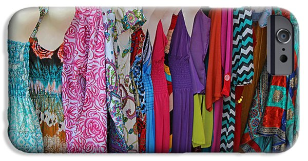 Cora Wandel iPhone Cases - Too Many Dresses To Choose From iPhone Case by Cora Wandel