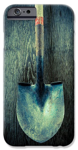 Ground iPhone Cases - Tools On Wood 15 iPhone Case by Yo Pedro