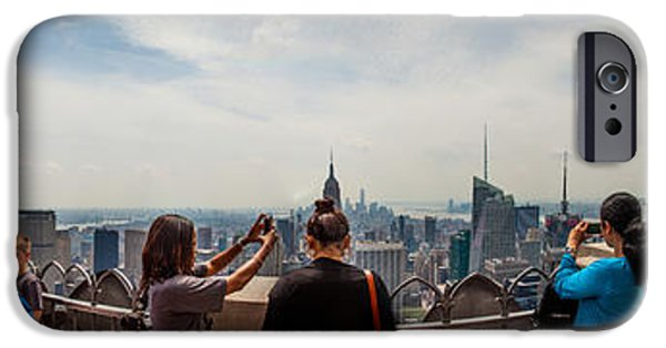 Buy iPhone Cases - Top Of The Rock Experience iPhone Case by Az Jackson