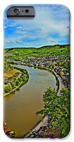 Weapon iPhone Cases - TOP VIEW. Moselle River. iPhone Case by Andy Za