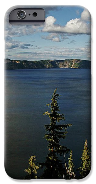 Top wow spot - Crater Lake in Crater Lake National Park Oregon iPhone Case by Christine Till