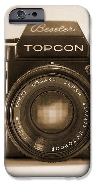 Topcon Auto 100 iPhone Case by Mike McGlothlen