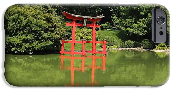 Religious iPhone Cases - Torii 3 iPhone Case by Karen Silvestri