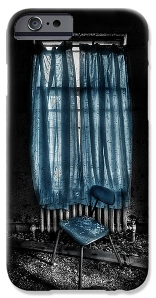 Asylum iPhone Cases - Tormented In Grace iPhone Case by Evelina Kremsdorf