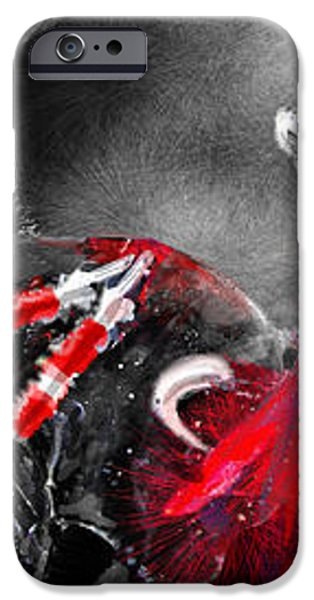 Toro Tarantino iPhone Case by Miki De Goodaboom