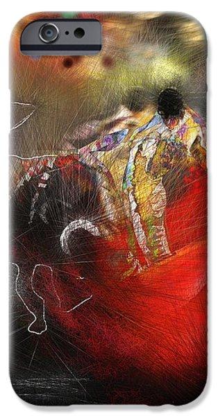 Toroscape 18 iPhone Case by Miki De Goodaboom