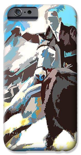 Toroscape 31 iPhone Case by Miki De Goodaboom
