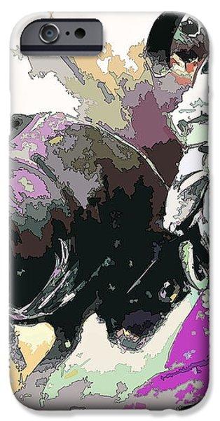 Toroscape 39 iPhone Case by Miki De Goodaboom